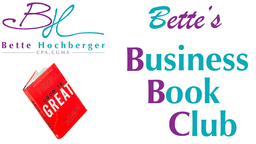 Bette's Business Book Club: Good to Great