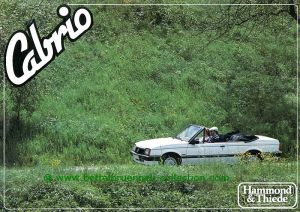 Hammond & Thiede Opel Ascona Cabriolet Prospekt 002-001h