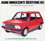 Innocenti Mini Bertone 90 Prospekt 001-001h