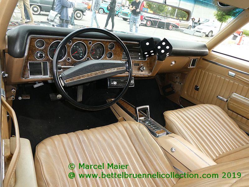 Chevrolet Monte Carlo 1970 Interieur