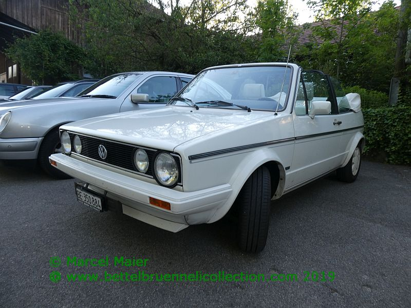 VW Golf 1 White Special