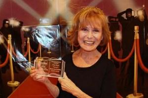 Bette Crosby winning award