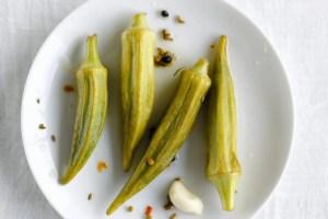 okra-pickles