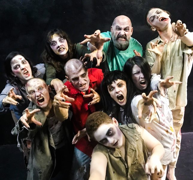 URBAN DEATH Tour of Terror Haunted Theatre Attraction in October for HALLOWEEN