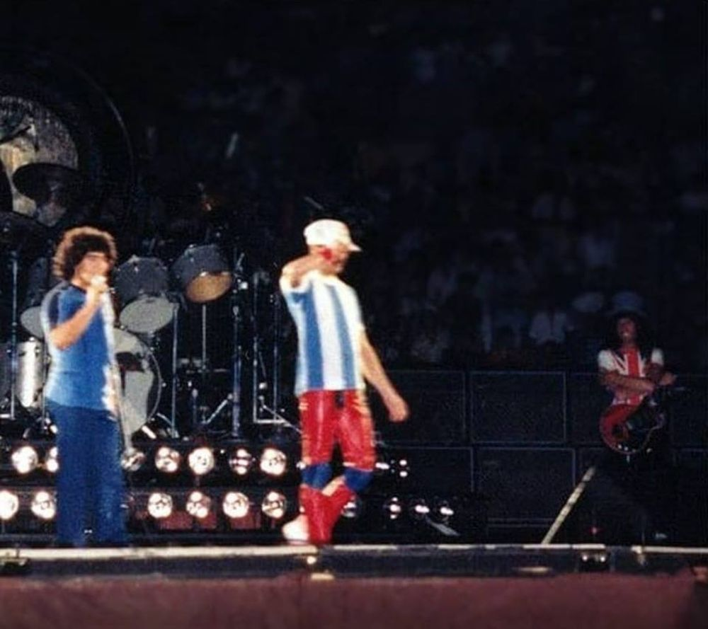 maradona si queen