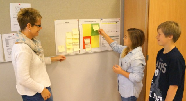 Lean problem solving at Baerland Skole (Photo: Baerland Skole)