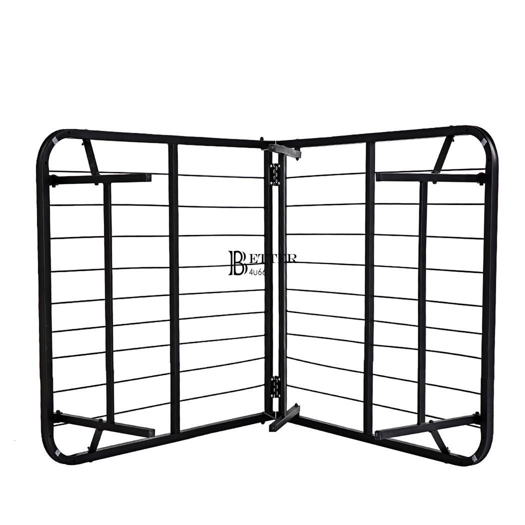 Twin Full Queen Size Folding Platform Metal Bed Frame