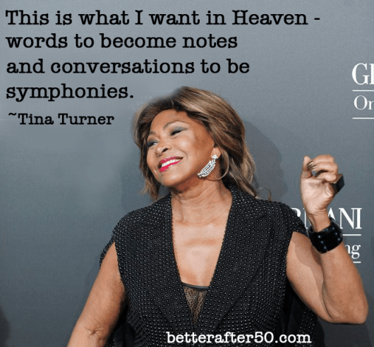 BA50 Women - Happy Birthday Tina Turner