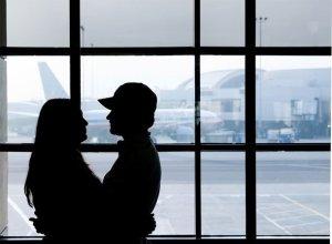 long distance relationships marriage saying goodbye