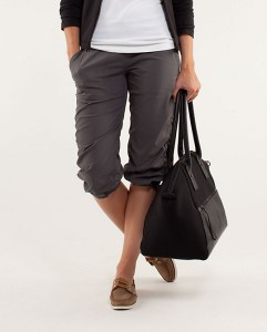 Cropped Pants may replace Shorts