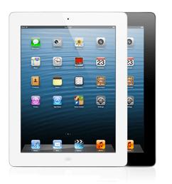 iPad with retina display