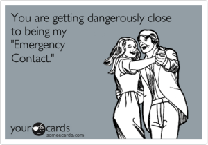 emergency contact after divorce, emergency contact