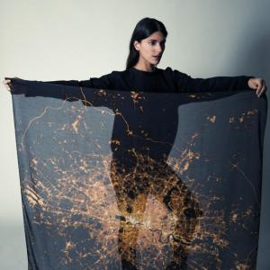 Cities by Night scarves
