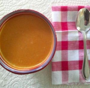 carrot chestnut soup