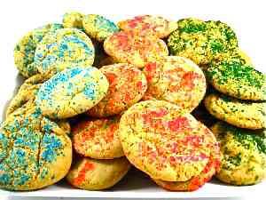 Low-Fat Sugar Cookies