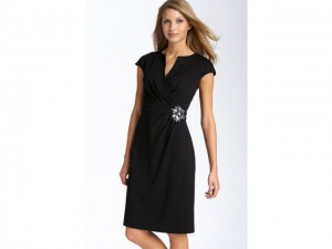 wrap dress - fashion for women over 50