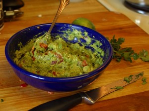 Guacamole for SUper Bowl SUnday