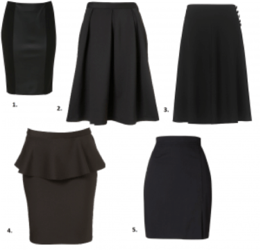 essential skirts