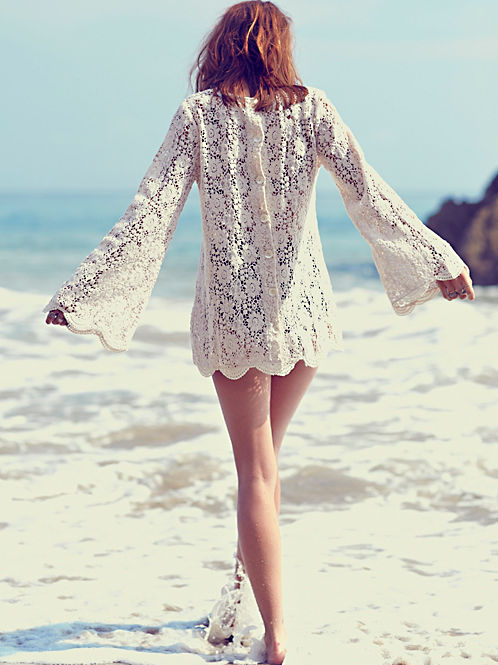 Infinite Arms Lace Tunic, $168 at freepeople.com