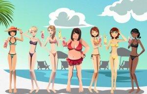 I forgot to diet for swimsuit season