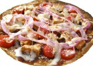 Skinny Kitchen BBQ Chicken Tortilla Pizza
