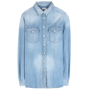 MOTHER All My Exes Denim Shirt $140 at shopbop.com