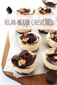 minimalist baker vegan cheesecakes