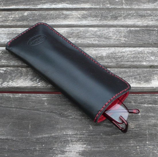 Deerskin Lined eyeglass case