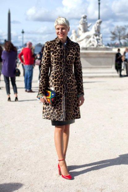 Paris Fashion Week Street Style image courtesy of Pinterest