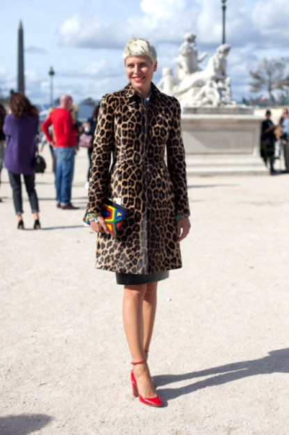 Paris Fashion Week Street Style image courtesy of Pinterest