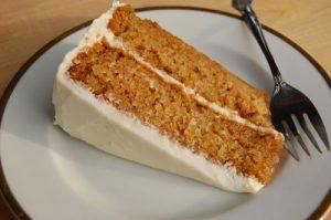 classic carrot birthday cake