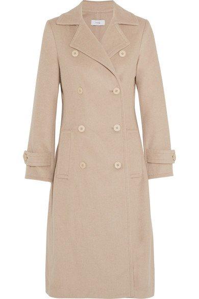 TITLE A Wool-blend felt coat Was $655 Now $458.50 30% OFF at netaporter.com