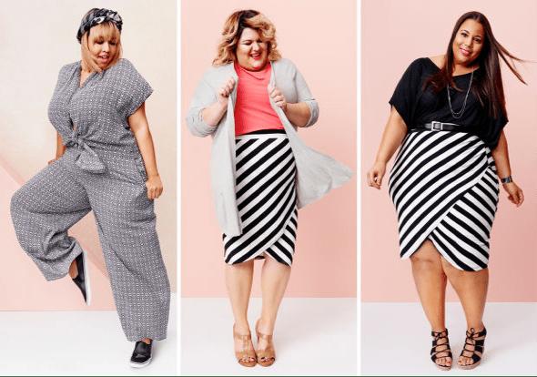 plus sized models fashion over 50