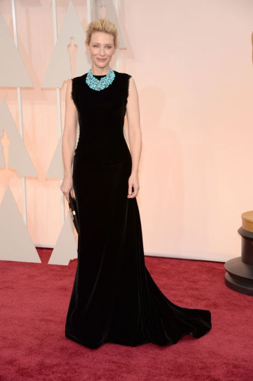 cate-blanchett-black-dress-necklace-oscars-2015