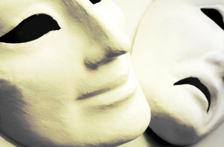 joy and sorrow masks