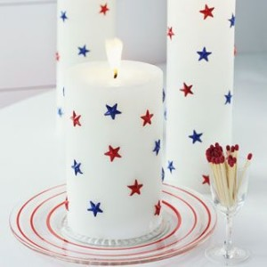 July 4th candles