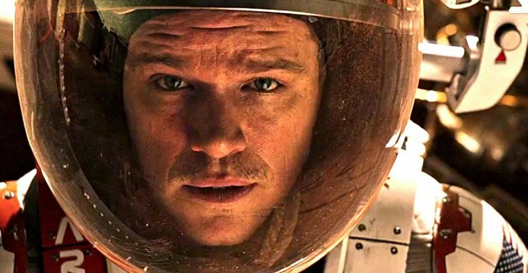 movie review martian matt damon