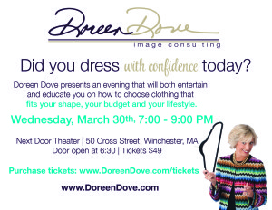 doreen dove event postcard photo