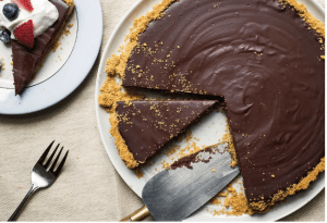 Florentine CHocolate Tart
