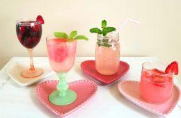 4 Guiltless Valentines Cocktails