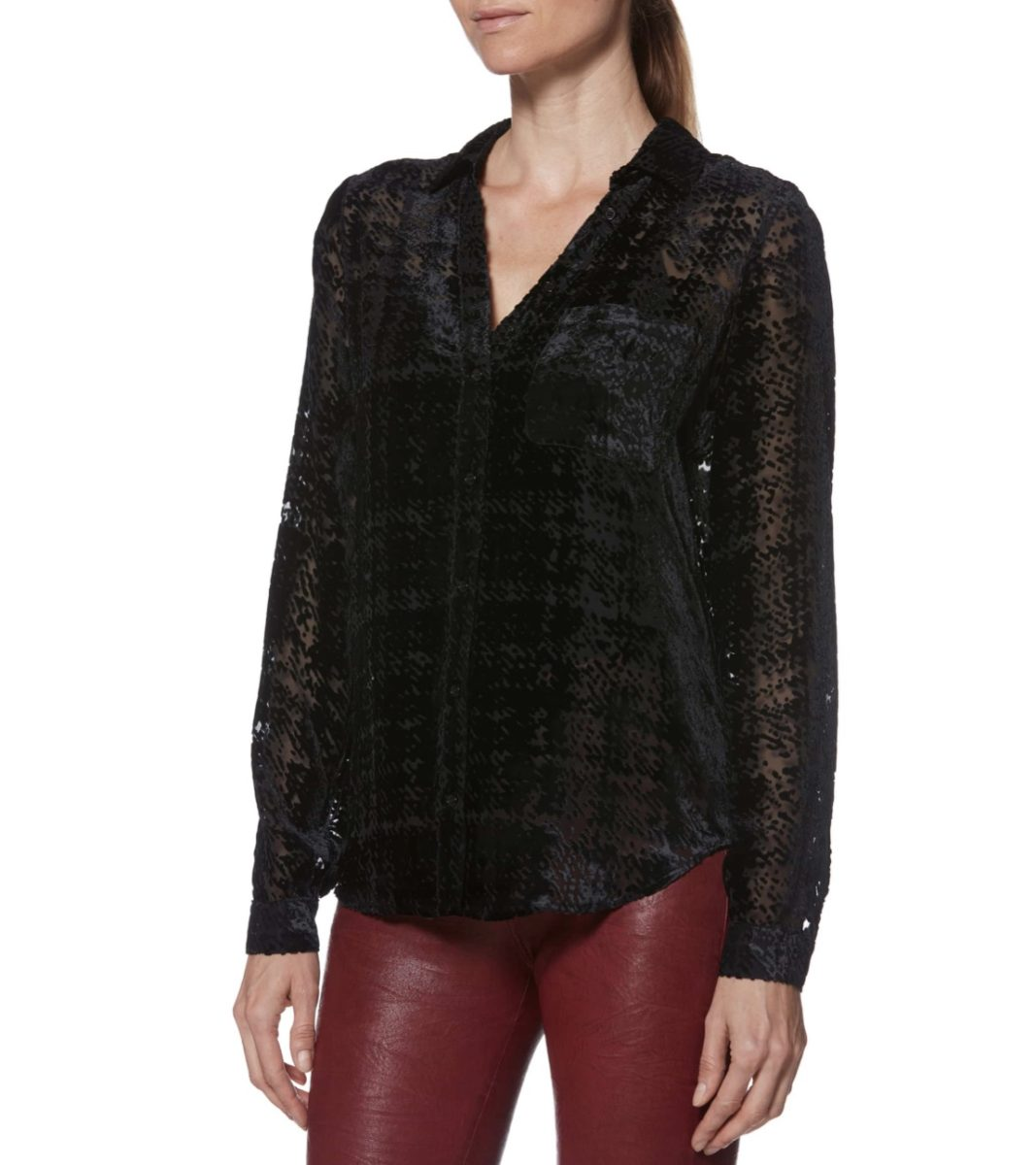 Luxurious Velvet Tops For Over 50 Fashionistas