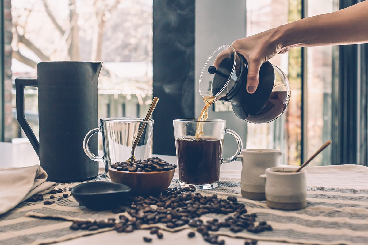 Make your own coffee