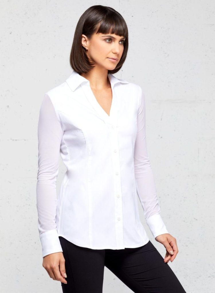 Beth Button-Front Shirt