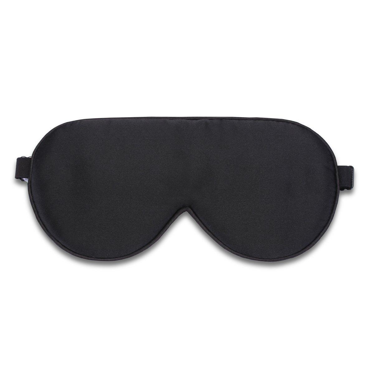 Alaska Bear Natural Silk Sleep Mask, Blindfold, Super Smooth Eye Mask (One Strap)