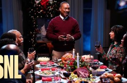 Eddy Murphy with family at Christmas