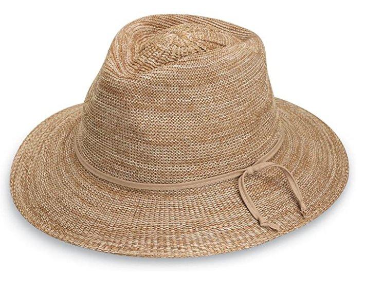 Wallaroo Hat Company Women's Victoria Fedora Sun Hat
