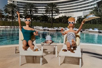 Barbie Dolls on Vacation