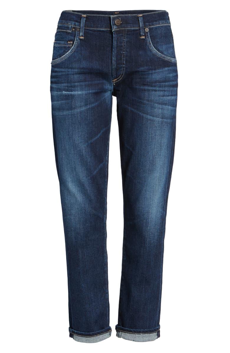 Emerson Slim Boyfriend Jeans