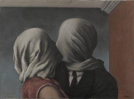 The Lovers by Rene Magritte, 1928 MoMA