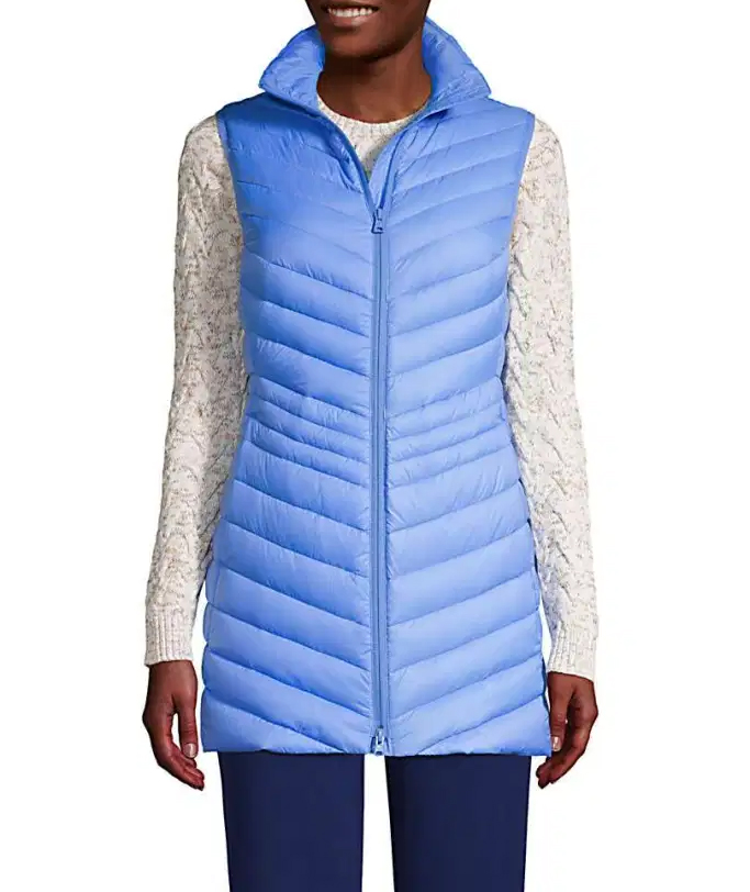 Lands' End Ultralight Packable Down Vest $79.96